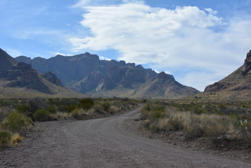 Backcountry Camping, Primitive, Big Bend