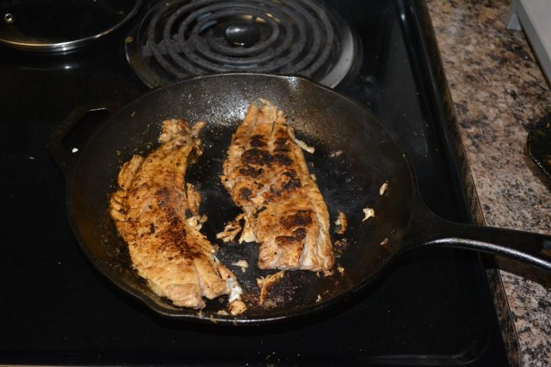 blackened snakehead recipe