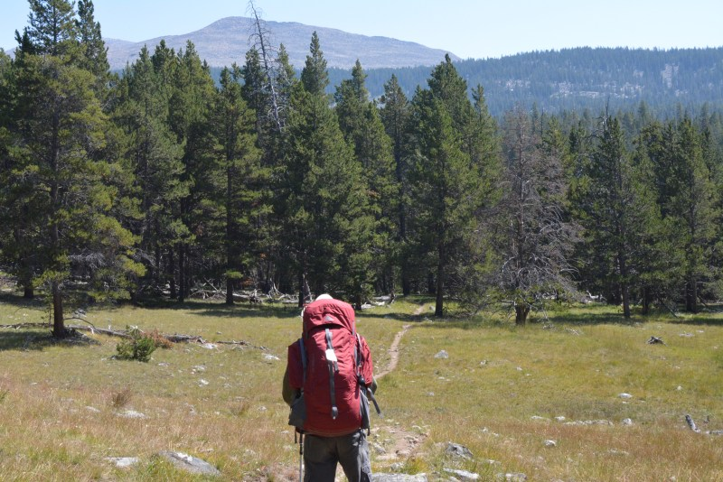 Bighorn Mountains, Lost Twin Lakes, trail