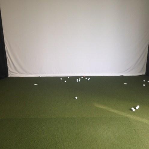 Oren's Golf Studio Trakman Golf Simulator