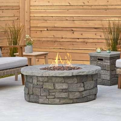 outdoor propane fireplaces outdoor