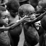 starving children africa