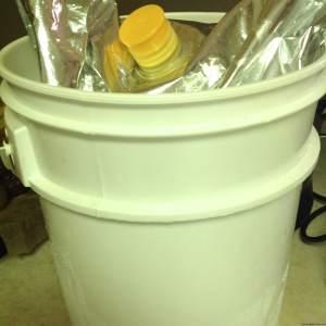 economy bucket of Aloe Vera