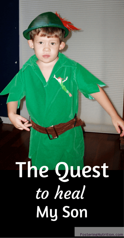 The Quest to heal my son