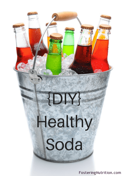 {DIY} Healthy Soda