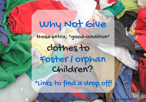 Why Not Give Clothes to Children