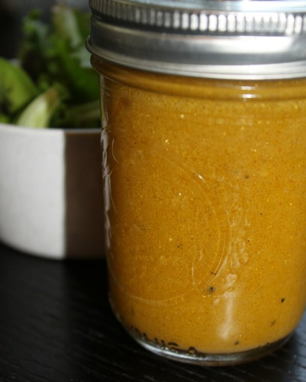 Salad Dressing with real Fat