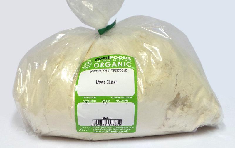 Organic Vital Wheat Gluten Flour from Real Foods Buy Bulk ...