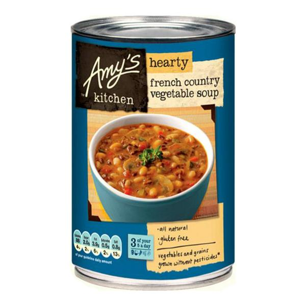 amy's kitchen soup cool islands organic french country vegetable in 408g from amy s gluten free vegan