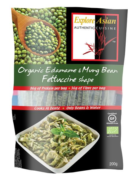 kitchen fruit basket appliance parts organic edamame and mung beans fettuccine pasta in 200g ...