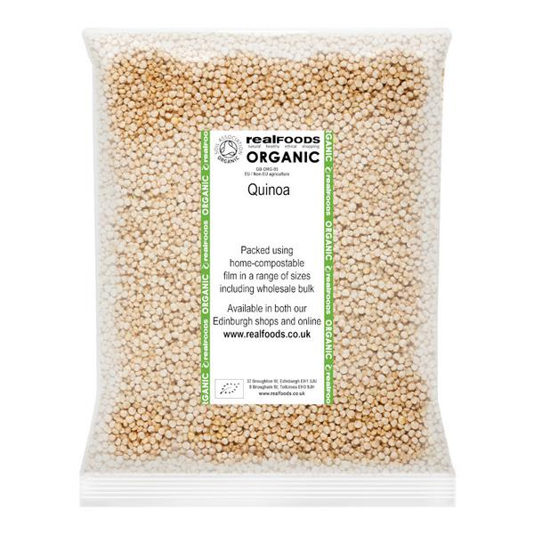 organic quinoa from real foods buy bulk wholesale online