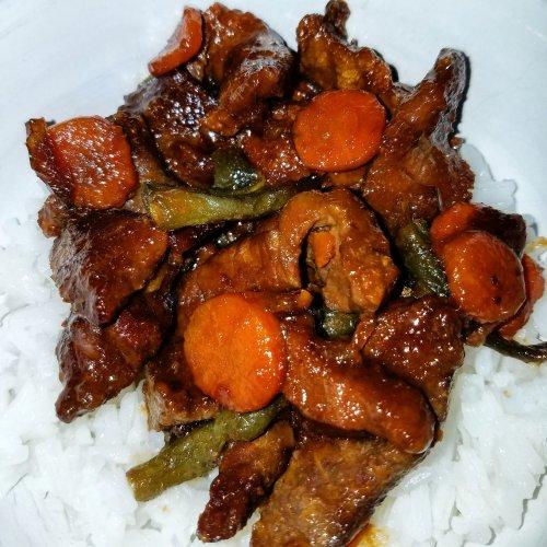 Instant Pot Mongolian Beef