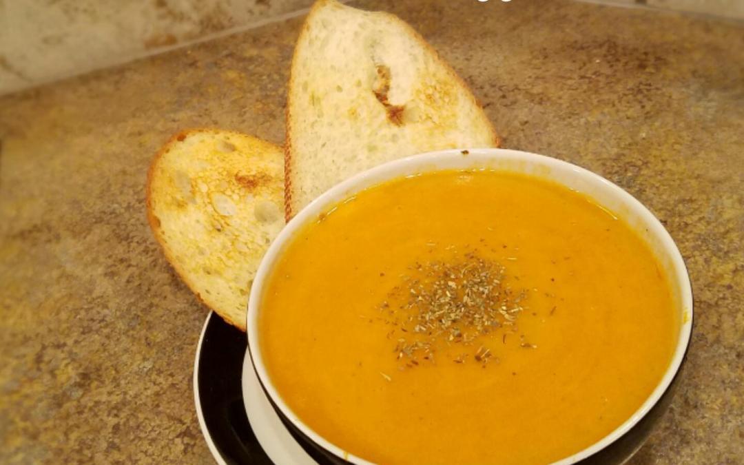 Instant Pot Root Veggie Soup