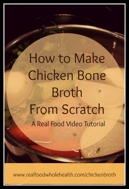 How to Make Homemade Chicken Bone Broth Chicken Stock