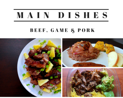 Mains - Beef