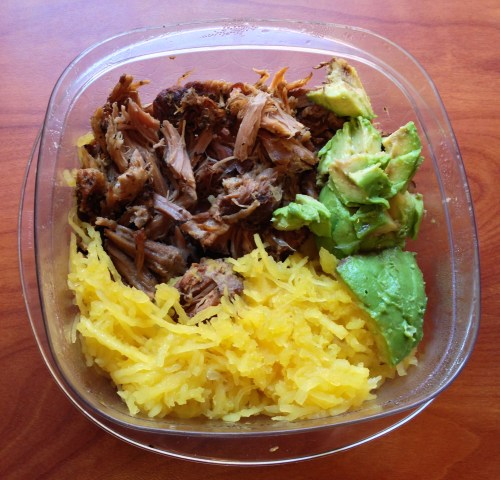 Ginger-Garlic Pulled Pork lunch - Real Food with Dana