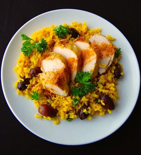 AIP Curry Cauliflower Rice - Real Food with Dana