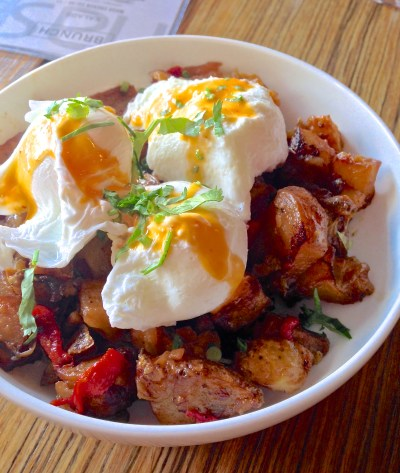 Smoked Chicken and Yucca Hash