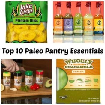 Top 10 Paleo Pantry Essentials