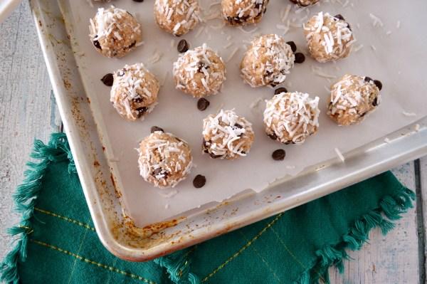 Paleo Almond Joy Cookies (No-Bake) - Real Food with Dana