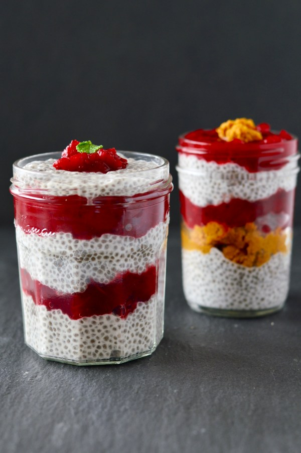 Cranberry Chia Pudding | Real Food with Dana