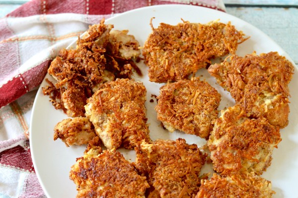 Almond Coconut Paleo Fried Chicken Real Food With Dana