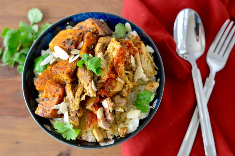 Slow Cooker Moroccan Chicken Thighs | Real Food with Dana