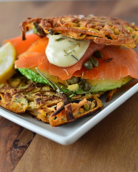 Zucchini, Bacon & Sweet Potato Pancakes | Real Food with Dana