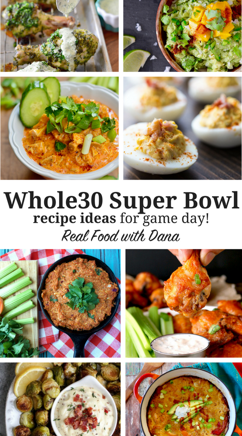 Whole30 Super Bowl Recipes