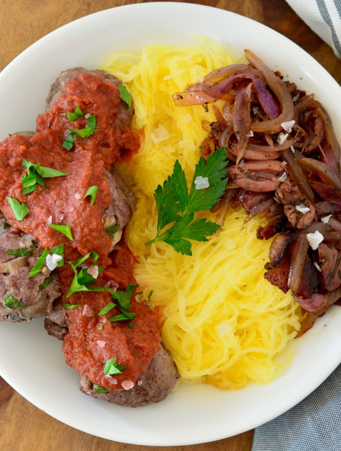Meatballs with Nomato Sauce from Simple French Paleo