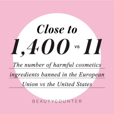 1400 vs. 11 - The number of harmful chemicals banned in the EU vs the US | Real Food with Dana | Beautycounter