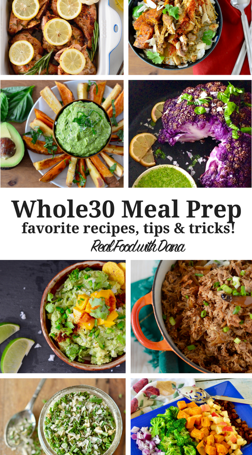 Favorite Whole30 Meal Prep Recipes & Tips