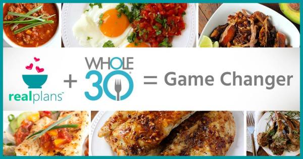 Whole30 Meal Planning with Real Plans
