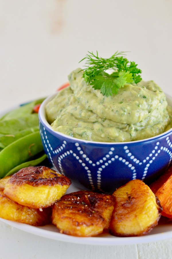 Avocado Ranch Dip (Whole30, Paleo, AIP) | Real Food with Dana