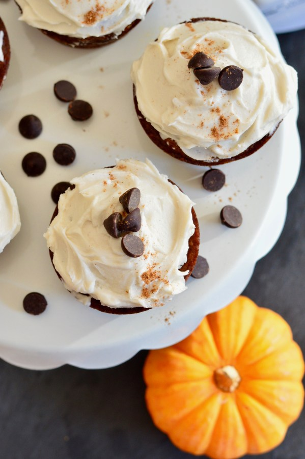 Paleo Pumpkin Spice Latte Muffins with Chocolate Chips | Real Food with Dana