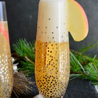Apple Cider Mimosas.