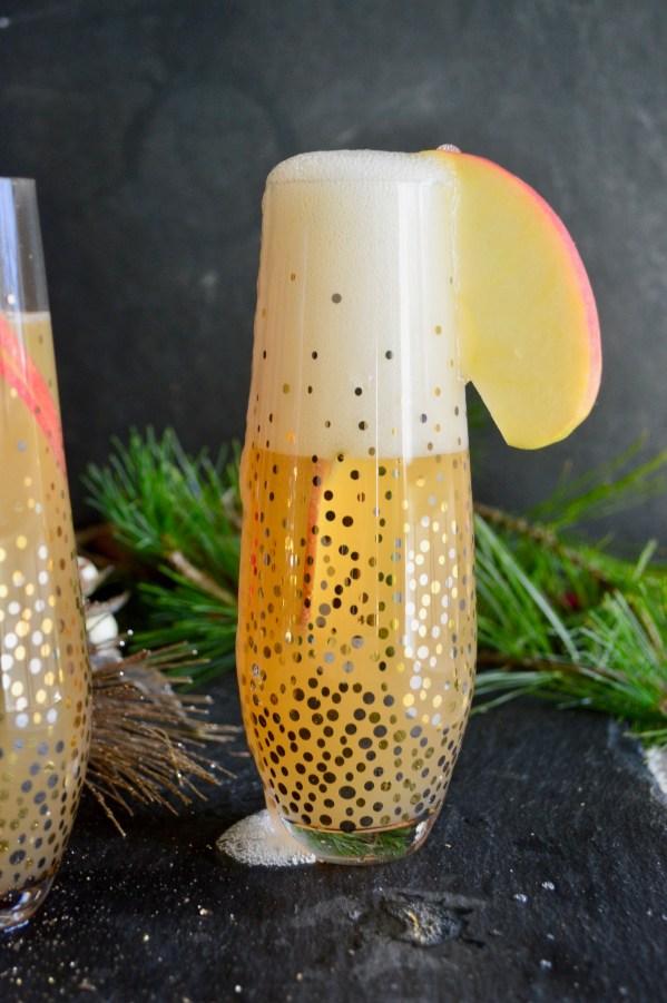 Apple Cider Mimosas   Real Food with Dana