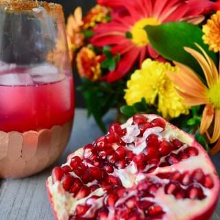Pomegranate Ginger Margaritas.