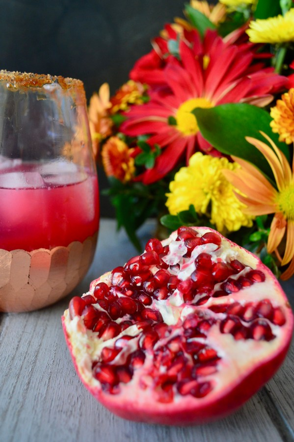 Pomegranate Ginger Margaritas | Real Food with Dana