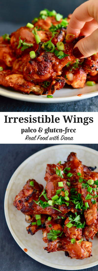 Irresistible Wings (Gluten-Free, Paleo) | Real Food with Dana