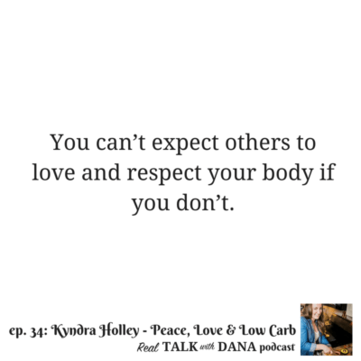 34 | Diets, Cheat Meals and Mindset, and Intuitive Keto with Kyndra Holley of Peace, Love and Low Carb