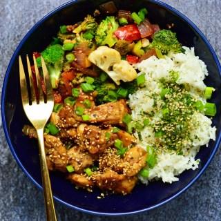 Chicken Teriyaki Bowls | Real Food with Dana