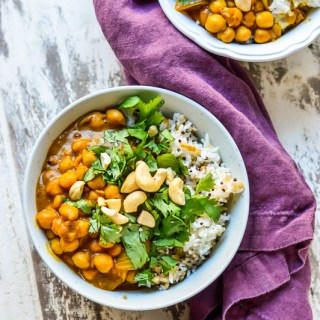 Sweet Potato Chickpea Curry | Real Food with Dana