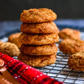 The Fluffiest Gluten Free Snickerdoodles | Real Food with Dana