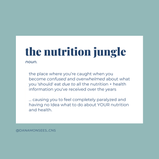 The Nutrition Jungle, Wellness Chasing & *Big Announcement for Real Talk with Dana*