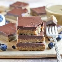 Paleo No-Bake Nut-Free SunButter Chocolate Bars