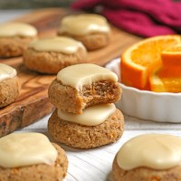 Paleo Vegan Orange Cookies