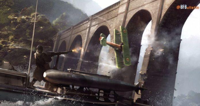 Battlefield 1 concept art torpedo