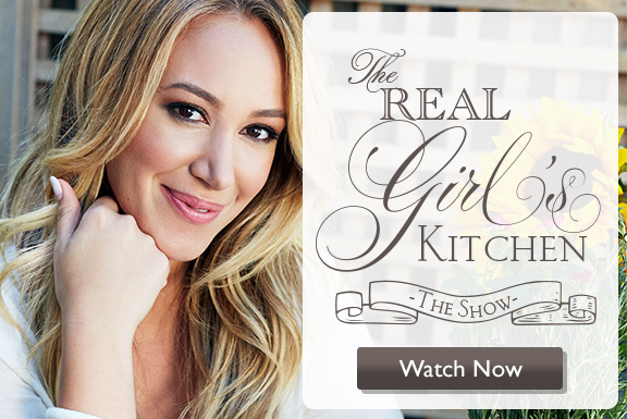 Check out Haylies Show on Ora TV  Real Girls Kitchen