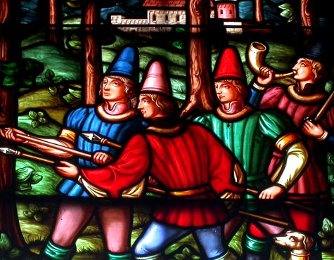A scene from the 5th window
